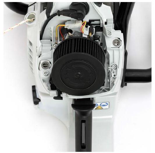 Motofierăstrăul STIHL MS 462 sistem filtrare aer